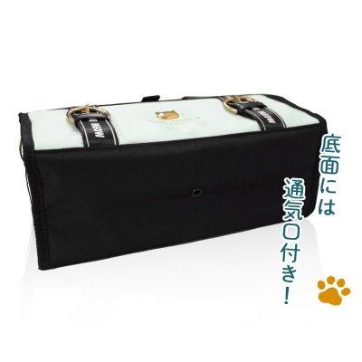 画像3: 絵の具バッグキャットウォーク 小学生女の子向けかわいい画材バッグ 女子  おしゃれ ネコ柄 猫