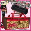 画像1: 絵の具バッグ・ラブリープリンセス かわいい女の子向け画材バッグ (1)
