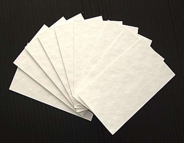 画像1: 紙すき用パルプ(10枚組) (1)