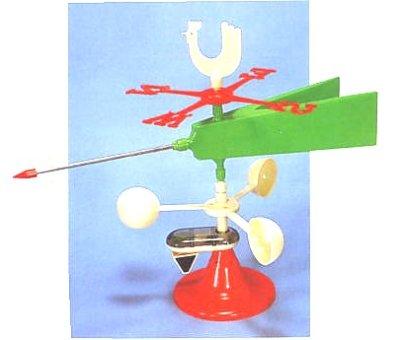 画像1: 風向/風速計【組立キット】