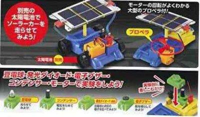 画像2: 電気の利用エコモービル太陽電池付き 発電・蓄電・エネルギー変換実験