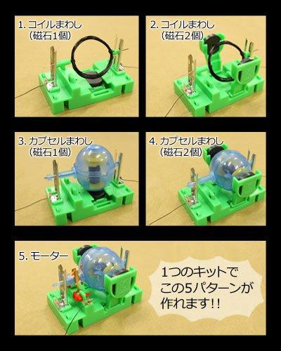 画像3: 電流と磁界 簡易モーター